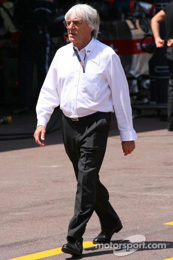 FOM CEO Bernie Ecclestone
