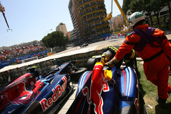 Sebastian Vettel, Red Bull Racing and Sebastien Buemi, Scuderia Toro Rosso cars
