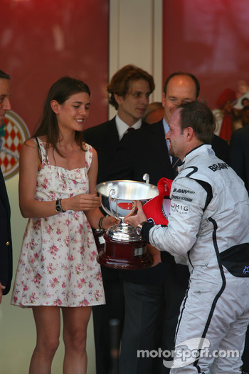 2nd place Rubens Barrichello, Brawn GP