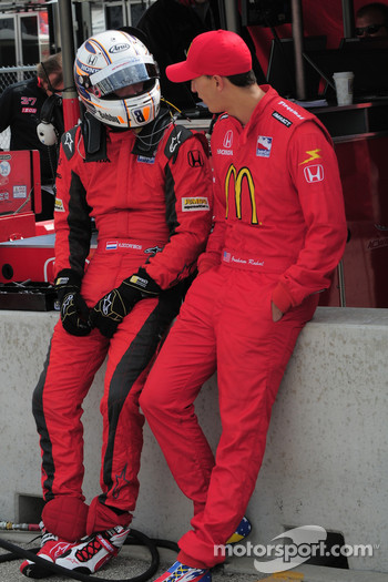 Robert Doornbos and Graham Rahal