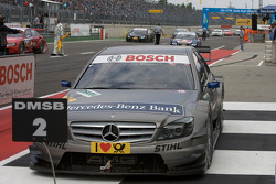 Second place Bruno Spengler, Team HWA AMG Mercedes AMG Mercedes C-Klasse