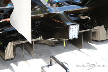 Brawn GP rear Diffuser
