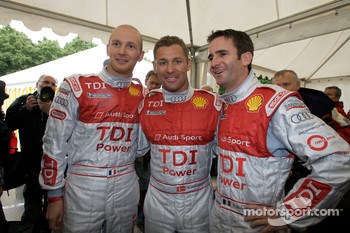 Alexandre Prémat, Tom Kristensen and Romain Dumas