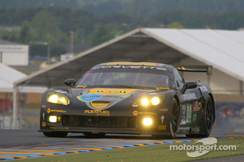 #64 Corvette Racing Corvette C6.R: Olivier Beretta, Oliver Gavin, Marcel Fassler