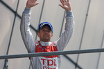LMP1 podium: Allan McNish