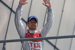 LMP1 podium: Allan McNish