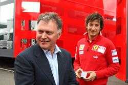 Dave Ryan with Massimo Rivola Scuderia Ferrari