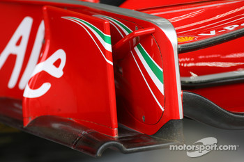 Ferrari front wing endplate