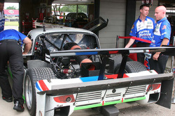 Back detail on the #59 Brumos Racing Porsche Riley: Joao Barbosa, JC France