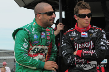 Tony Kanaan, Andretti Green Racing and Marco Andretti