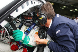 Alex Zanardi, BMW Team Italy-Spain and Roberto Ravaglia, Team Manager, BMW Team Italy-Spain / ROAL Motorsport