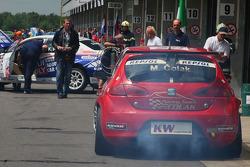 Marin Colak, Colak Racing Team Ingra, Seat Leon 2.0 TFSI with problems