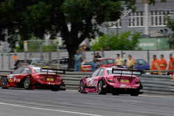 Mike Rockenfeller, Audi Sport Team Rosberg, Audi A4 DTM, Susie Stoddart, Persson Motorsport, AMG Mercedes C-Klasse