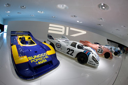 1973 Porsche 917/30 Spyder and 1971 Porsche 917 KH Coupe_