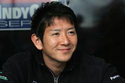 Autograph session: Hideki Mutoh, Andretti Green Racing
