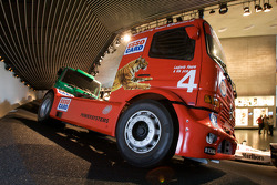 Silver arrows: 2001 Mercedes-Benz Atego race truck