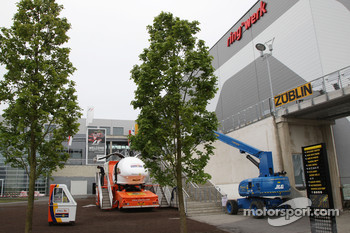 New development and facilities around the Nurburgring
