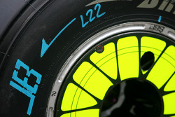 Brawn GP wheel