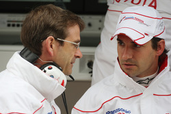 Pascal Vasselon, Toyota F1 Team, Senior General Manager Chassis, Timo Glock, Toyota F1 Team