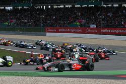 Start: Lewis Hamilton, McLaren Mercedes