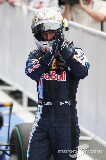 Second place Sebastian Vettel, Red Bull Racing