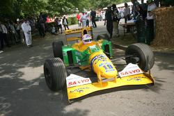 Lorina McLaughlin, Benetton Ford B192 1992