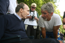 Frank Williams, Damon Hill