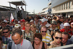 Pit lane walkabout