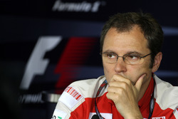 FIA press conference: Stefano Domenicali, Scuderia Ferrari, Sporting Director