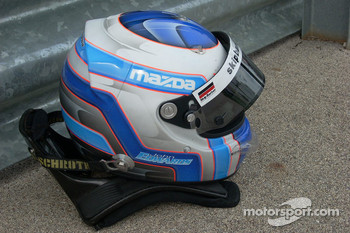 Helmet of John Edwards, Newman Wachs Racing