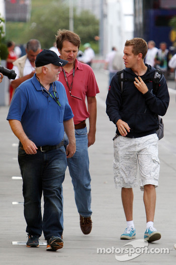 Norbert Vettel, Father of Sebastian Vettel, Sebastian Vettel, Red Bull Racing