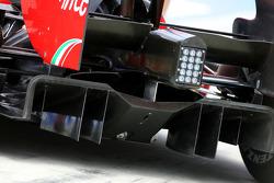 Scuderia Ferrari difusor