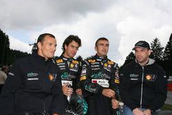 Michael Bartels, Andrea Bertolini, Stéphane Sarrazin, Alexandre Negrao