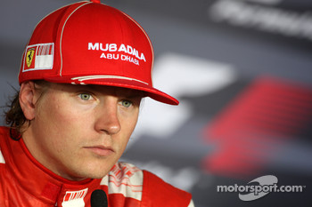 Post-race press conference: second place Kimi Raikkonen, Scuderia Ferrari