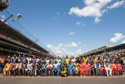 The 43 Sprint Cup drivers pose
