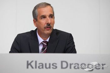 Dr. Klaus Draeger (head of development)