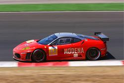 #84 Team Modena Ferrari F430 GT: Antonio Garcia, Leo Mansell, Jaime Melo