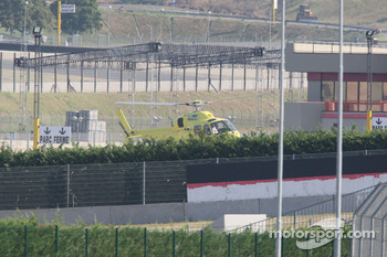 Michael Schumacher, Scuderia Ferrari, leaves the track