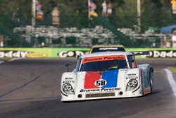 #58 Brumos Racing Porsche Riley: David Donohue, Darren Law