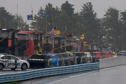 Rain falls on Watkins Glen