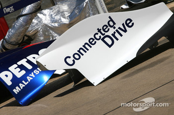 BMW Sauber F1 Team engine cover