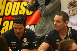 Jamie Whincup and Craig Lowndes, Team Vodafone