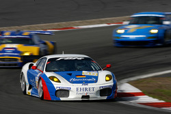 #90 FBR Ferrari F430 GT: Pierre Ehret, Dominik Farnbacher, Anthony Beltoise