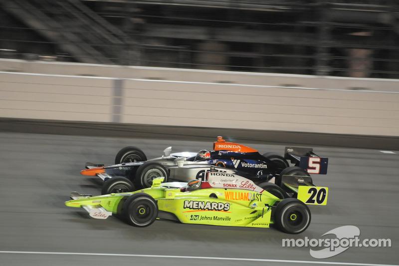 Mario Moraes, KV Racing Technology and Ed Carpenter, Vision Racing