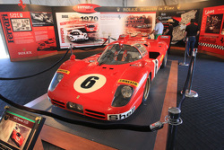 Special presentation: Rolex Moments in Time display, 1970 Ferrari 512S