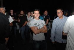 LCR Honda MotoGP Team Night Event On The Beach at Hakuna Matata Club: Randy De Puniet, LCR Honda MotoGP
