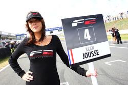 Formula Two grid girl of Julien Jousse