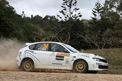 Gianluca Linari and Andrea Cecchi, Subaru Impreza WRX Sti