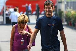 Mark Webber, Red Bull Racing and Ann Neal