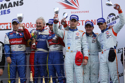 LMP1: third place and LMS Series 2009 champions Jan Charouz, Tomas Enge and Stefan Mücke